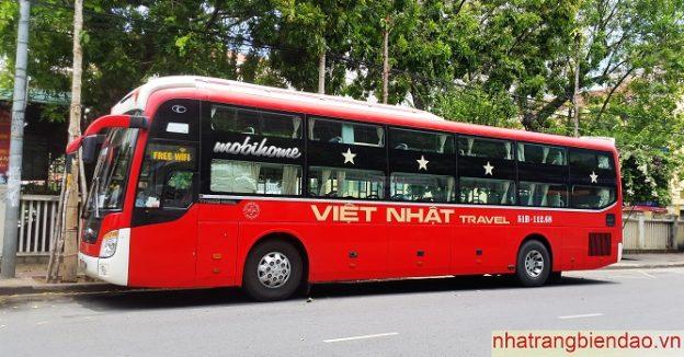 Vé xe Nha Trang đi Sài Gòn