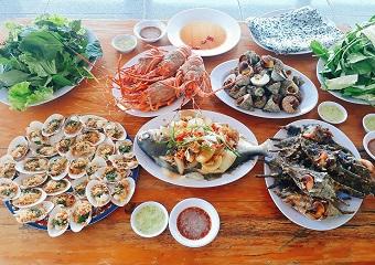 Nhà hàng hải sản Bình Ba ngon + bổ + rẻ 2018